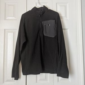 EUC Black Large The North Face Fleece Pullover